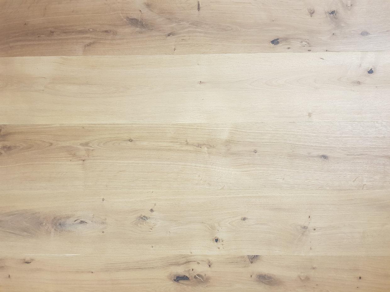 Eiken duoplank cm rustiek b onbehandeld balkan wood l